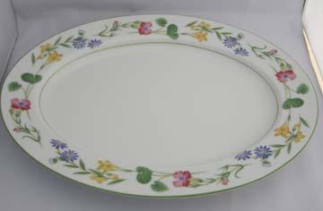 Noritake Meadowcrest  4034 Platter