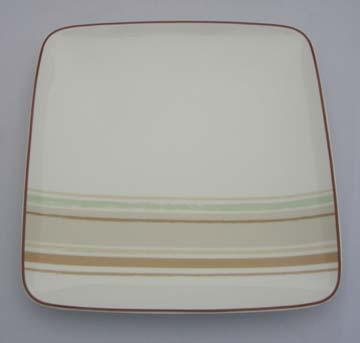 Noritake Mocha Java Swirl  9312 Plate - Salad