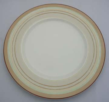 Noritake Mocha Java Swirl  9312 Plate - Luncheon