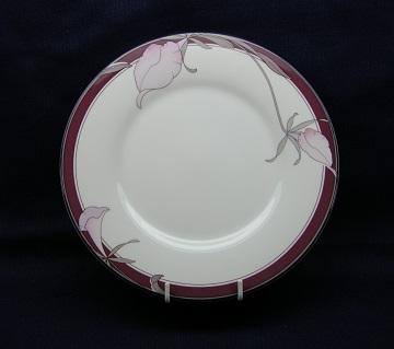 Noritake Plum Orchid  9098 Plate - Salad