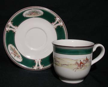 Noritake Pursuit #9170 Cup & Saucer