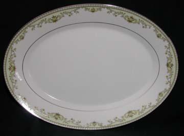 Noritake Raleigh 2487 - Green Platter