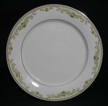 Noritake Raleigh 2487 - Green Plate - Dinner
