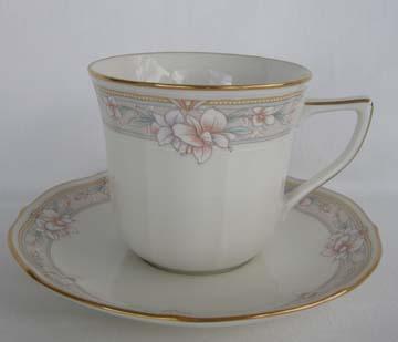 Noritake Windsor Garden  7302 Cup & Saucer