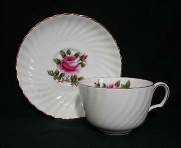 Northumbria Carleton Rose Cup & Saucer