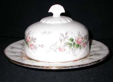 Paragon Affection Butter Dish - Covered - Round Base