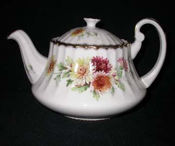 Paragon Autumn Glory Tea Pot & Lid - Large