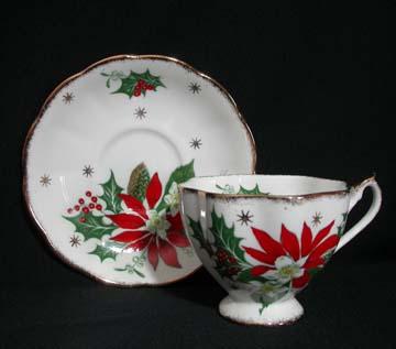 Queen Anne Noel Cup & Saucer