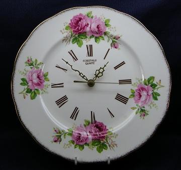 Royal Albert American Beauty Clock