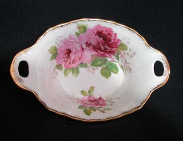 Royal Albert American Beauty Sweet Dish - Handled