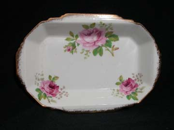 Royal Albert American Beauty Tray