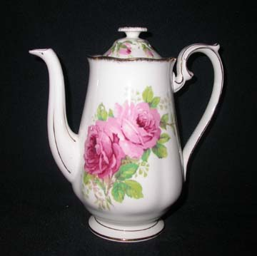 Royal Albert American Beauty Breakfast Coffeepot