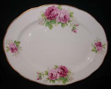 Royal Albert American Beauty Platter