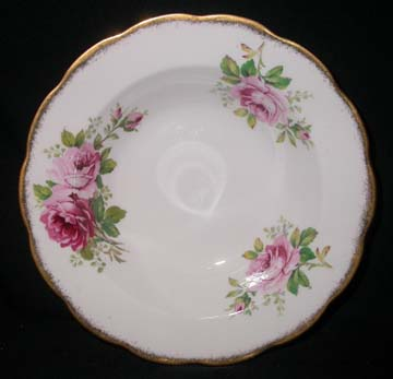 Royal Albert American Beauty Bowl - Soup/Rim