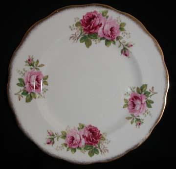 Royal Albert American Beauty Plate - Dinner