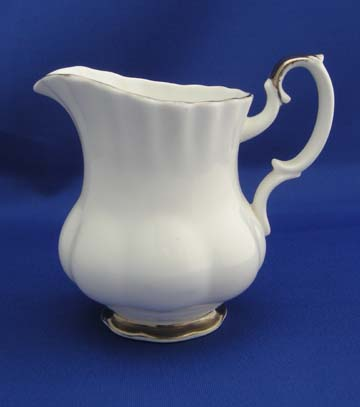 Royal Albert Chantilly - Platinum Creamer - Small