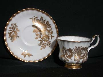 Royal Albert Golden Rose Cup & Saucer