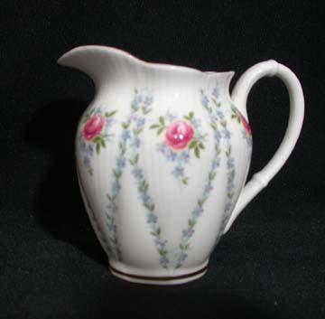 Royal Albert Minuet - Pink & Blue Creamer - Small