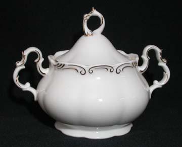 Royal Albert Orleans Sugar Bowl & Lid