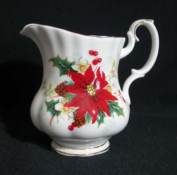 Royal Albert Poinsettia Creamer - Small