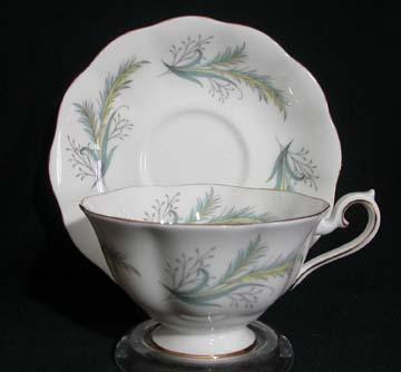 Royal Albert Rendez-Vous Cup & Saucer