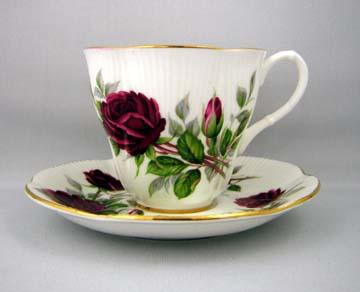 Royal Albert Royal Canadian Rose Cup & Saucer - Demitasse