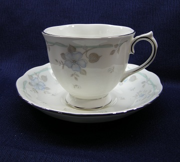 Royal Albert Satin Rose Cup & Saucer