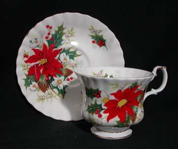 Royal Albert Poinsettia Cup & Saucer