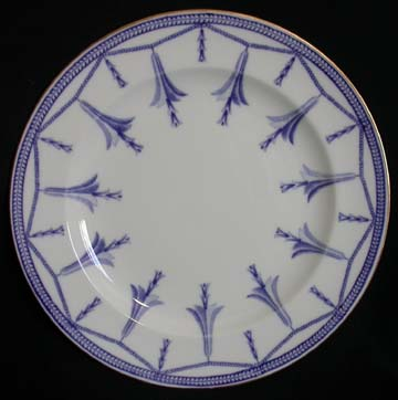 Royal Crown Derby Blue Bells On Chain Plate - Salad