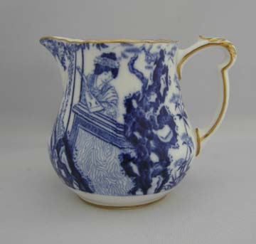 Royal Crown Derby Blue Mikado Creamer - Small