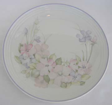 Royal Doulton - Lambethware Chelsea LS 1055 - Fresh Flowers Series Plate - Dinner