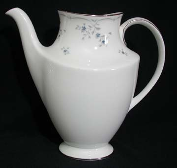 Royal Doulton Cotillion Coffee Pot & Lid - Coffee Pot Only