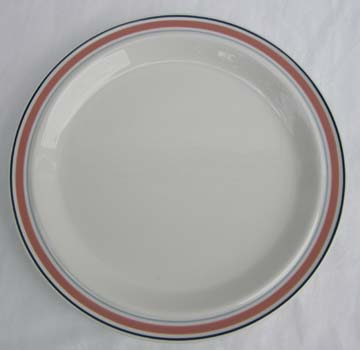 Royal Doulton Dusty Rose Line Plate - Salad