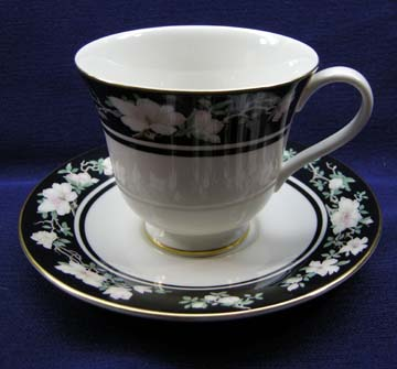 Royal Doulton Intrigue  TC 1153 Cup & Saucer