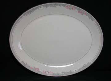 Royal Doulton Park Lane - Fresh Flowers Series Platter