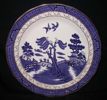 Royal Doulton Real Old Willow Plate - Dinner