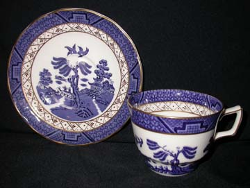 Royal Doulton Real Old Willow Cup & Saucer