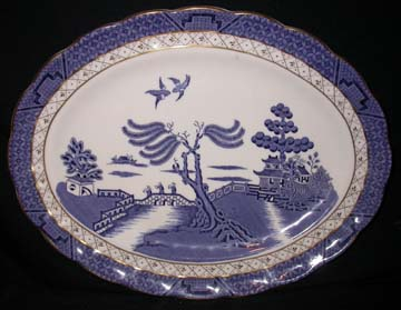 Royal Doulton Real Old Willow Platter