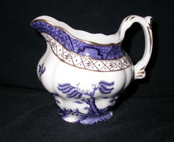 Royal Doulton Real Old Willow Creamer - Large