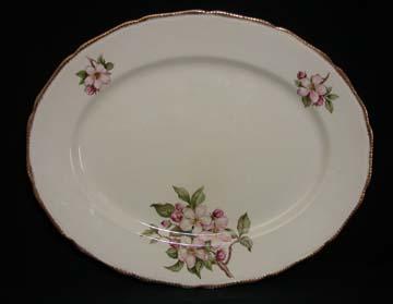 Royal Swan Blossomtime Platter
