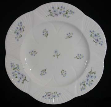Shelley Blue Rock 13591 Plate - Dinner