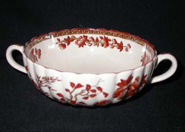 Spode India Tree Cream Soup Bowl Only - Footed