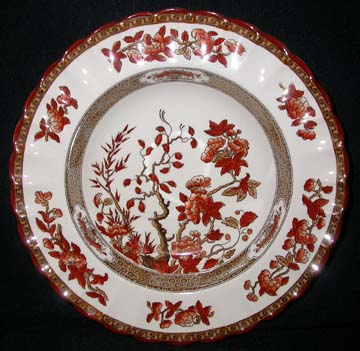 Spode India Tree Bowl - Soup/Rim
