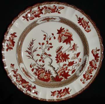 Spode India Tree Plate - Dinner