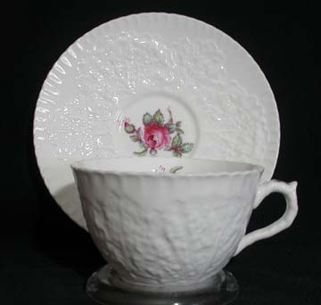 Spode Savoy Rose Y2862 Cup & Saucer