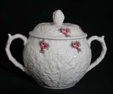 Spode Savoy Rose Y2862 Sugar Bowl & Lid