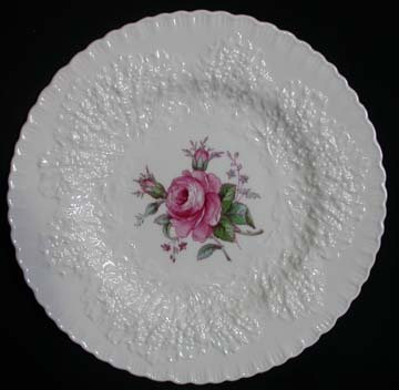Spode Savoy Rose Y2862 Plate - Dinner