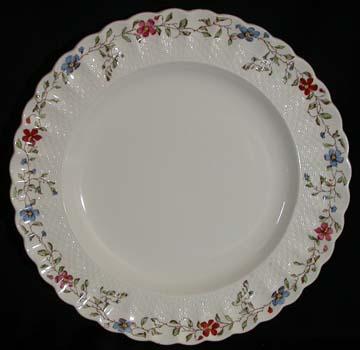 Spode Wicker Dale Plate - Dinner
