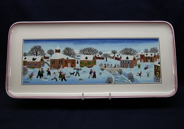 Villeroy and Boch Naif Christmas Tray