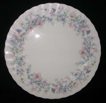 Wedgwood Angela - Swirled Edge Plate - Dinner